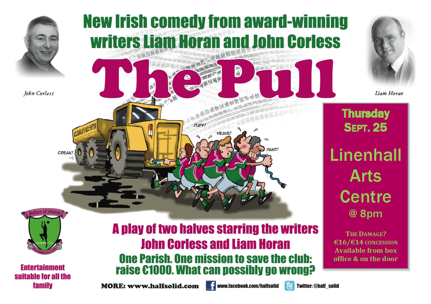 The Pull, Linenhall Arts Centre, Thursday, Sept. 25, 2014